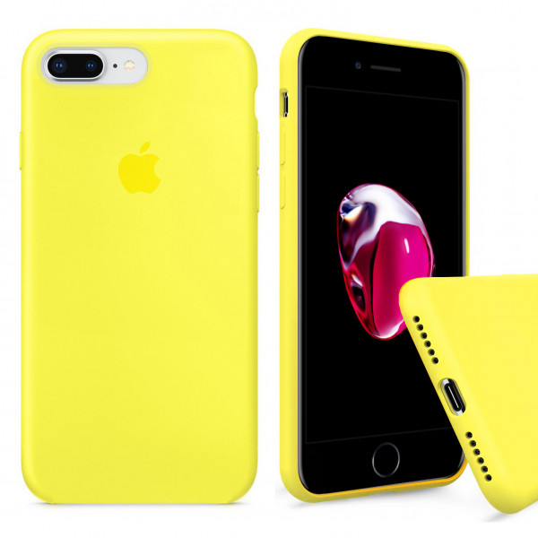 Чехол Silicone Case Full для iPhone 7 Plus / 8 Plus (Flash)