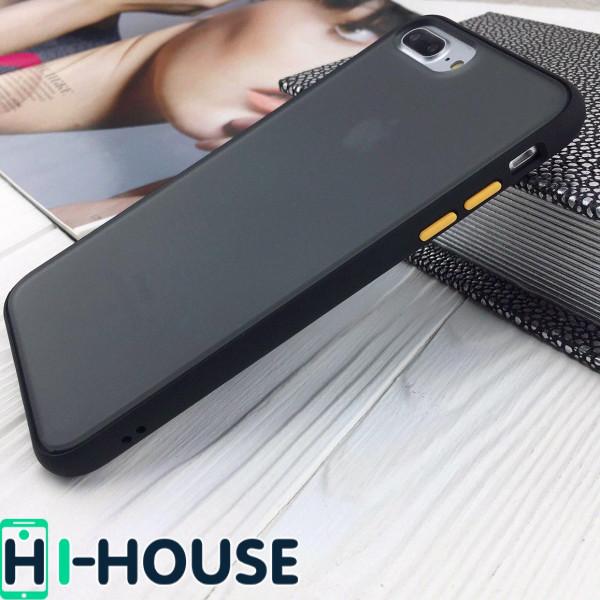 Чехол Gingle Series Case на iPhone 8 Plus/7 Plus (Black Yellow)