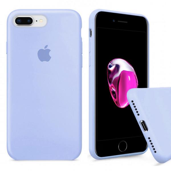Чехол Silicone Case Full для iPhone 7 Plus / 8 Plus (Sea Blue)