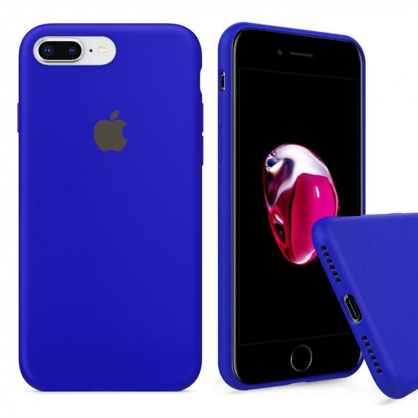 Чехол Silicone Case Full для iPhone 7 Plus / 8 Plus (Ultramarine)