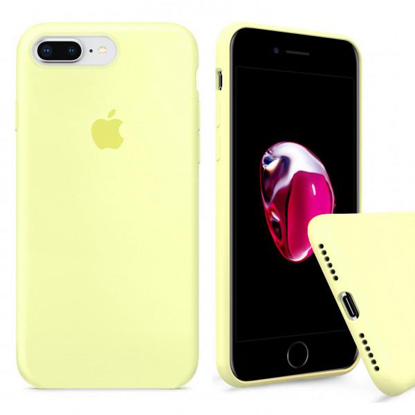 Чехол Silicone Case Full для iPhone 7 Plus / 8 Plus (Mellow Yellow)
