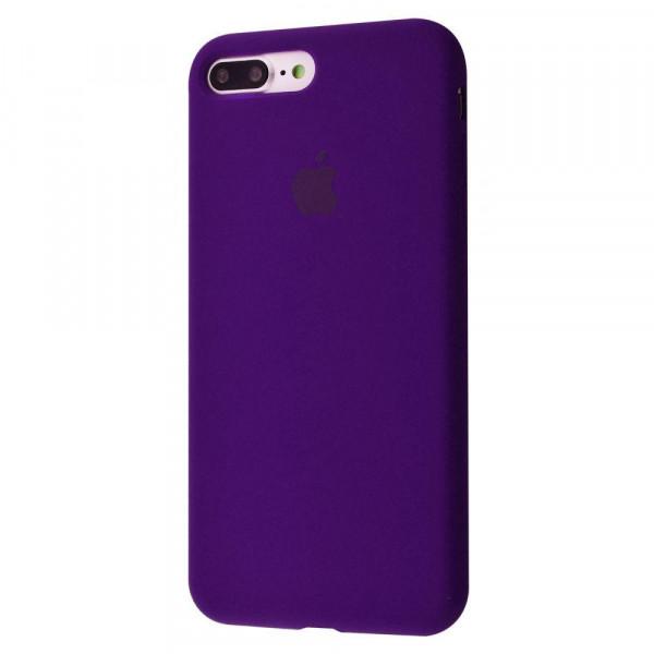 Чехол Silicone Case Full для iPhone 7 Plus / 8 Plus (Ultra Violet)