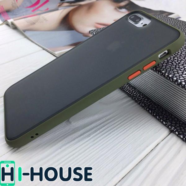 Чехол Gingle Series Case на iPhone 8 Plus/7 Plus (Green Orange)