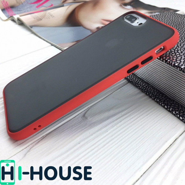 Чехол Gingle Series Case на iPhone 8 Plus/7 Plus (Red Black)