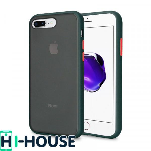 Чехол Gingle Series Case на iPhone 8 Plus/7 Plus (Forest Green)