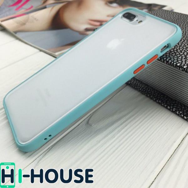 Чехол Gingle Series Case на iPhone 8 Plus/7 Plus (Light Blue)