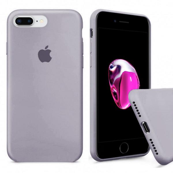 Чехол Silicone Case Full для iPhone 7 Plus / 8 Plus (Lavender)