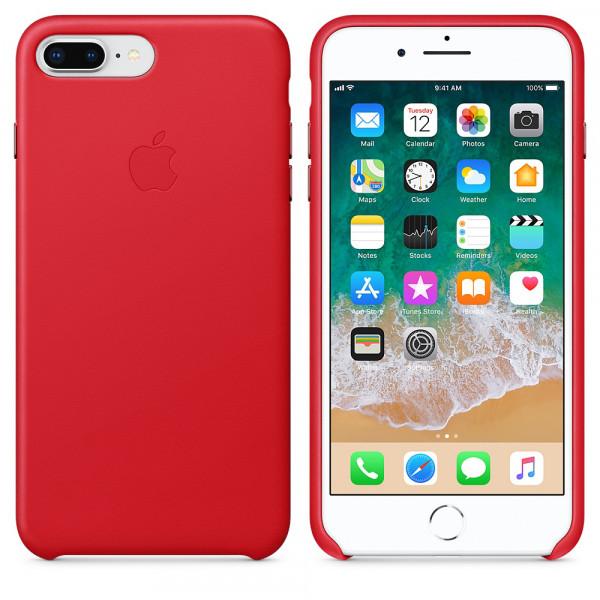 Чехол Good Leather Case для iPhone 7 Plus / 8 Plus (Red)