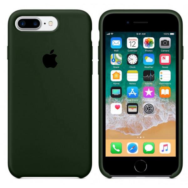 Чехол Silicone Case для iPhone 7 Plus/8 Plus Virid OEM