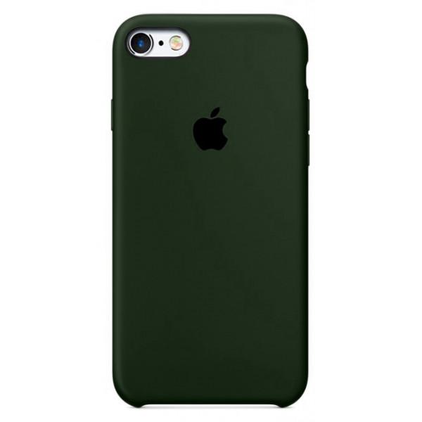Чехол для iPhone SE / 5s / 5 Silicone Case (virid)