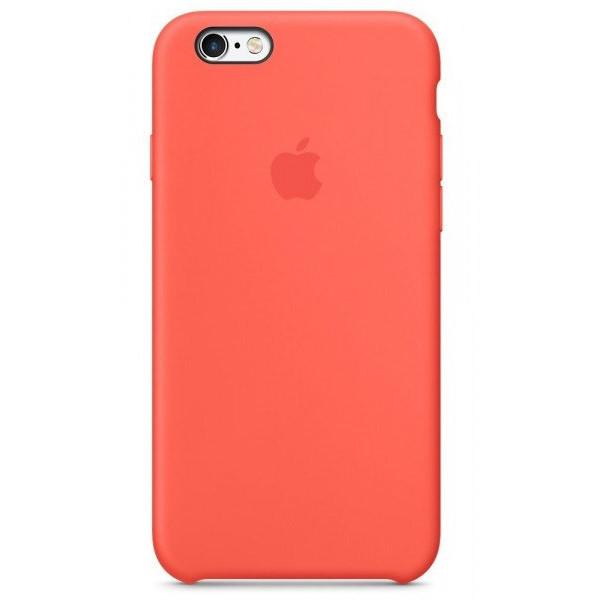 Чехол для iPhone SE / 5s / 5 Silicone Case (new apricot)