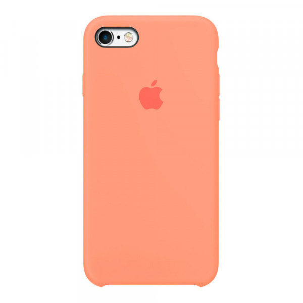 Чехол для iPhone SE / 5s / 5 Silicone Case (peach)