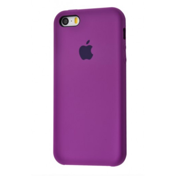 Чехол для iPhone SE / 5s / 5 Silicone Case (purple)