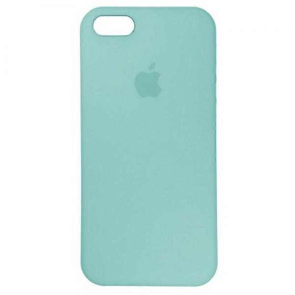 Чехол для iPhone SE / 5s / 5 Silicone Case (sea blue)