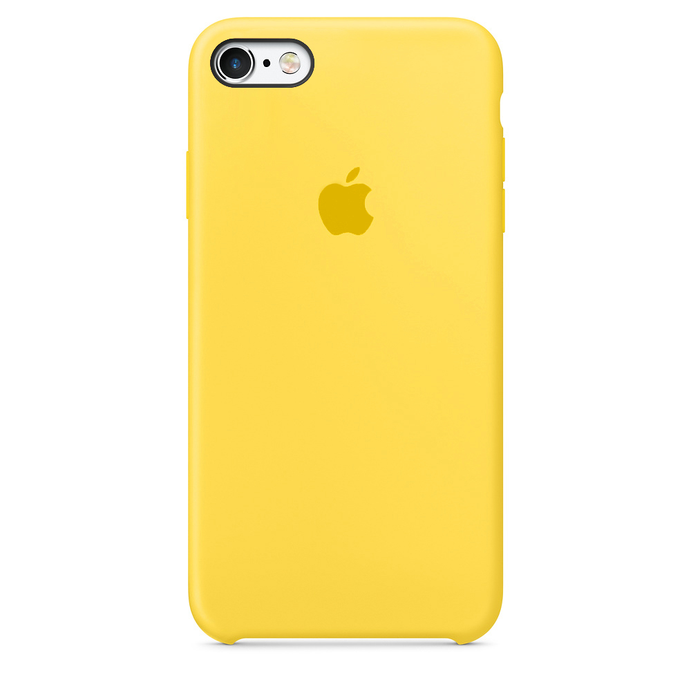Чехол Silicone Case для iPhone SE / 5s / 5 (Canary Yellow)