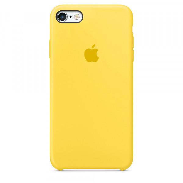 Чехол Silicone Case для iPhone SE / 5s / 5 (Canary Yellow)