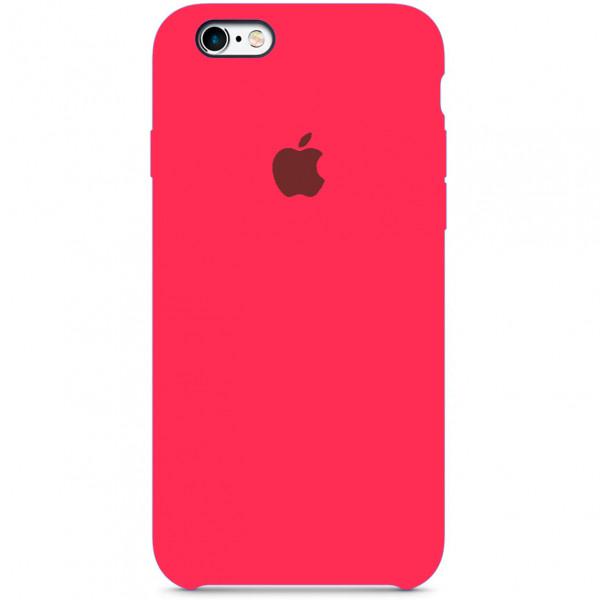 Чехол Silicone Case для iPhone SE / 5s / 5 (Electric Pink)
