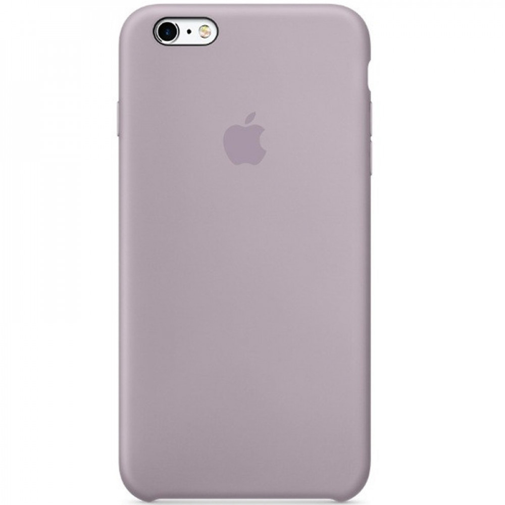 Чехол Silicone Case для iPhone SE / 5s / 5 (Lavender Gray)