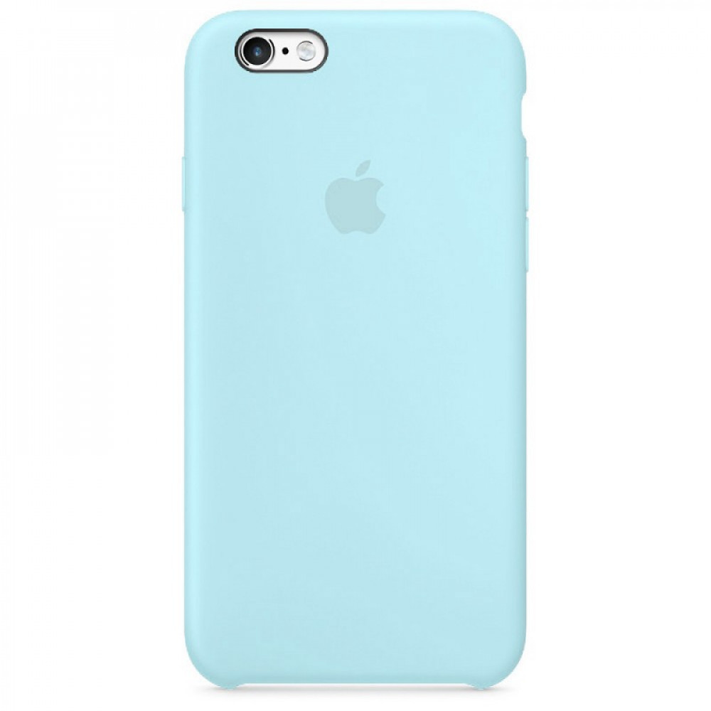 Чехол Silicone Case для iPhone SE / 5s / 5 (Marine Green)