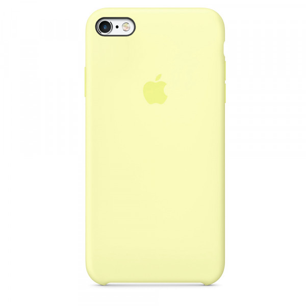 Чехол Silicone Case для iPhone SE / 5s / 5 (Mellow Yellow)