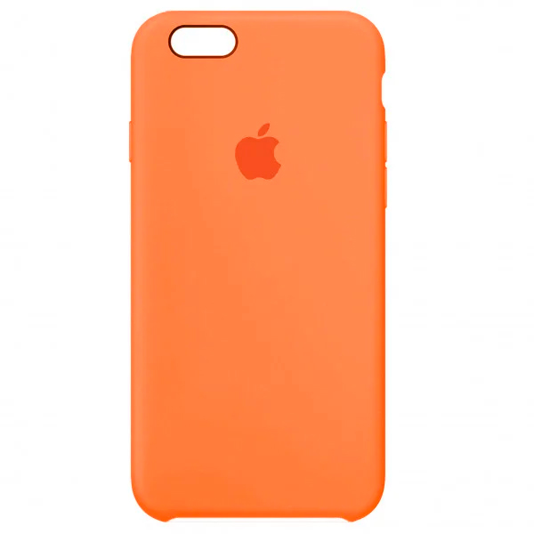 Чехол Silicone Case для iPhone SE / 5s / 5 (Papaya)
