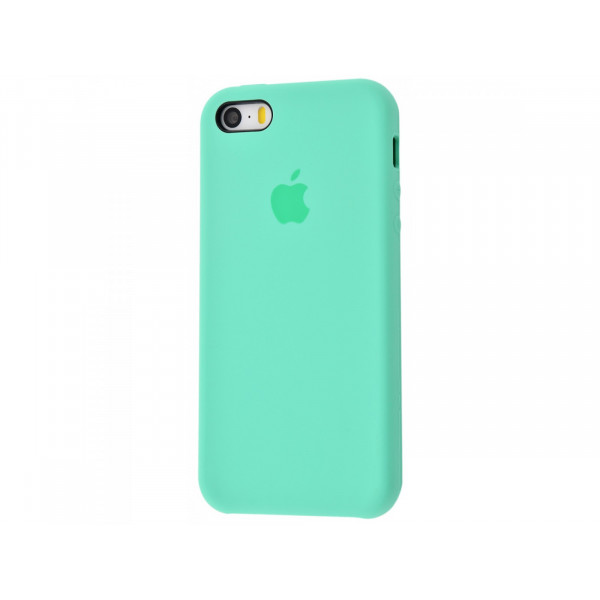 Чехол Silicone Case для iPhone SE / 5s / 5 (Spearmint)