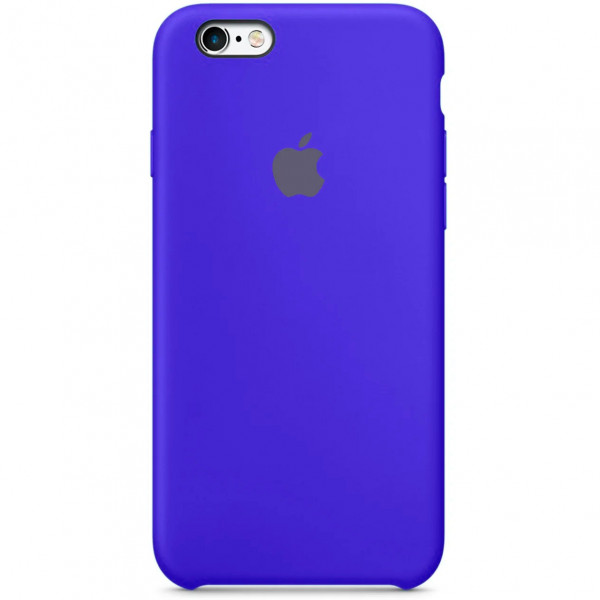 Чехол Silicone Case для iPhone SE / 5s / 5 (Ultramarine)