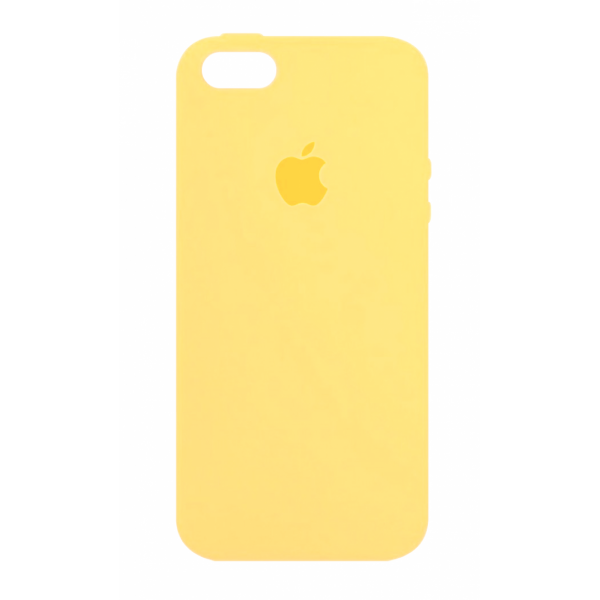 Чехол Silicone Case для iPhone SE / 5s / 5 (Yellow)