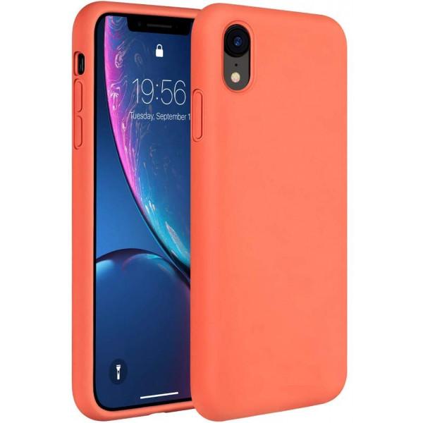 Чехол Silicone Case Full для iPhone XR (Coral)