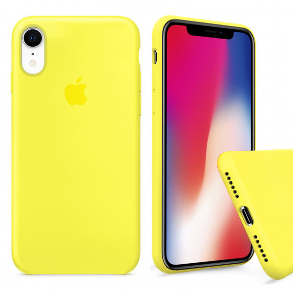 Чехол Silicone Case Full для iPhone XR (Flash)