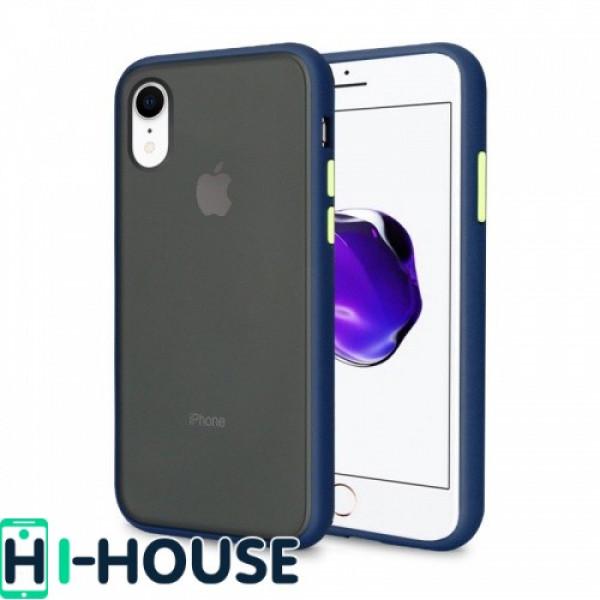 Чехол Gingle Series Case на iPhone Xr (Blue Green)