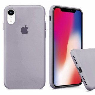 Чехол Silicone Case Full для iPhone XR (Lavender)
