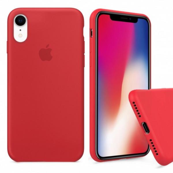 Чехол Silicone Case Full для iPhone XR (Red)