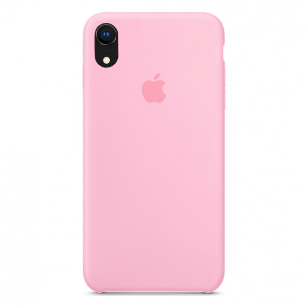 Чехол Silicone Case для iPhone XR (Pink) OEM
