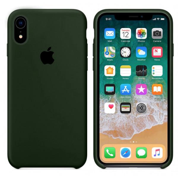 Чехол Silicone Case для iPhone XR (Virid) OEM