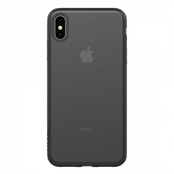 Чехол Clear Case для iPhone XS Max (Black)