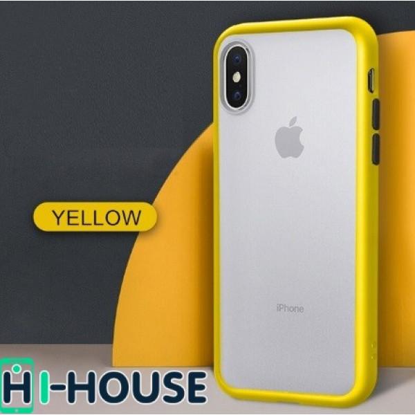 Чехол Gingle Series Case на iPhone Xs/X (Yellow Black)