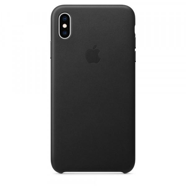 Чехол Good Leather Case для iPhone XS / X (Black)