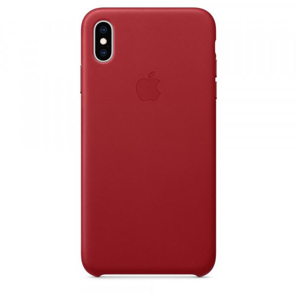 Чехол Good Leather Case для iPhone XS Max (Red)