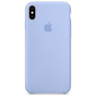 Чехол Silicone Case для iPhone XS Max (Sky Blue) OEM