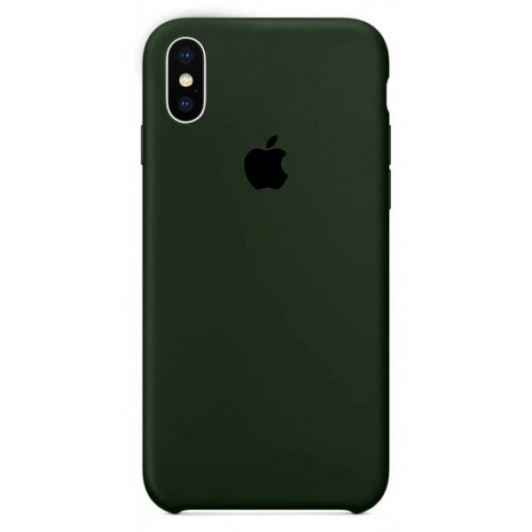 Чехол Silicone Case для iPhone XS Max (Virid) OEM
