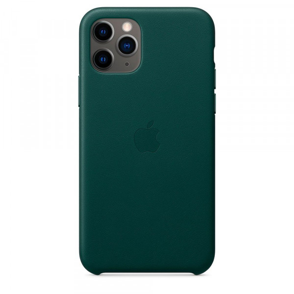 Чехол Good Leather Case iPhone 11 Pro Max (Forest Green)