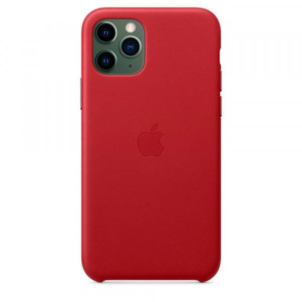 Чехол Good Leather Case iPhone 11 Pro Max (Red)