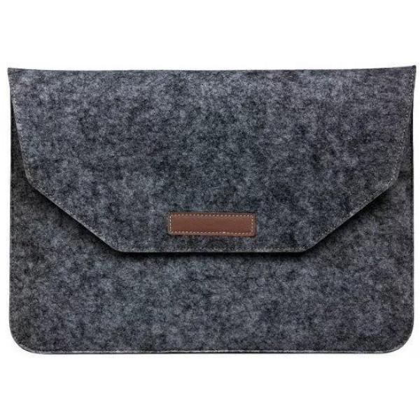 """Чехол папка-конверт на MacBook 13.3"""" Felt Sleeve Bag (Dark Gray)"""