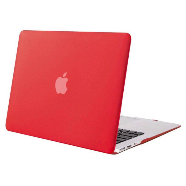 "Чехол-накладка на MacBook Pro 13,3"" Retina New DDC пластик (Matte Red)"