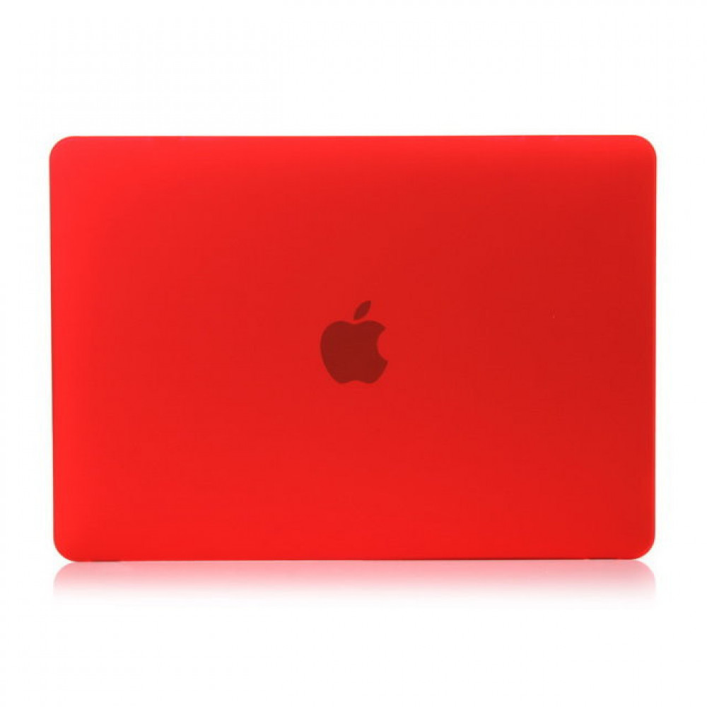 "Чехол-накладка на MacBook Air 13,3"" DDC пластик (Matte Red)"