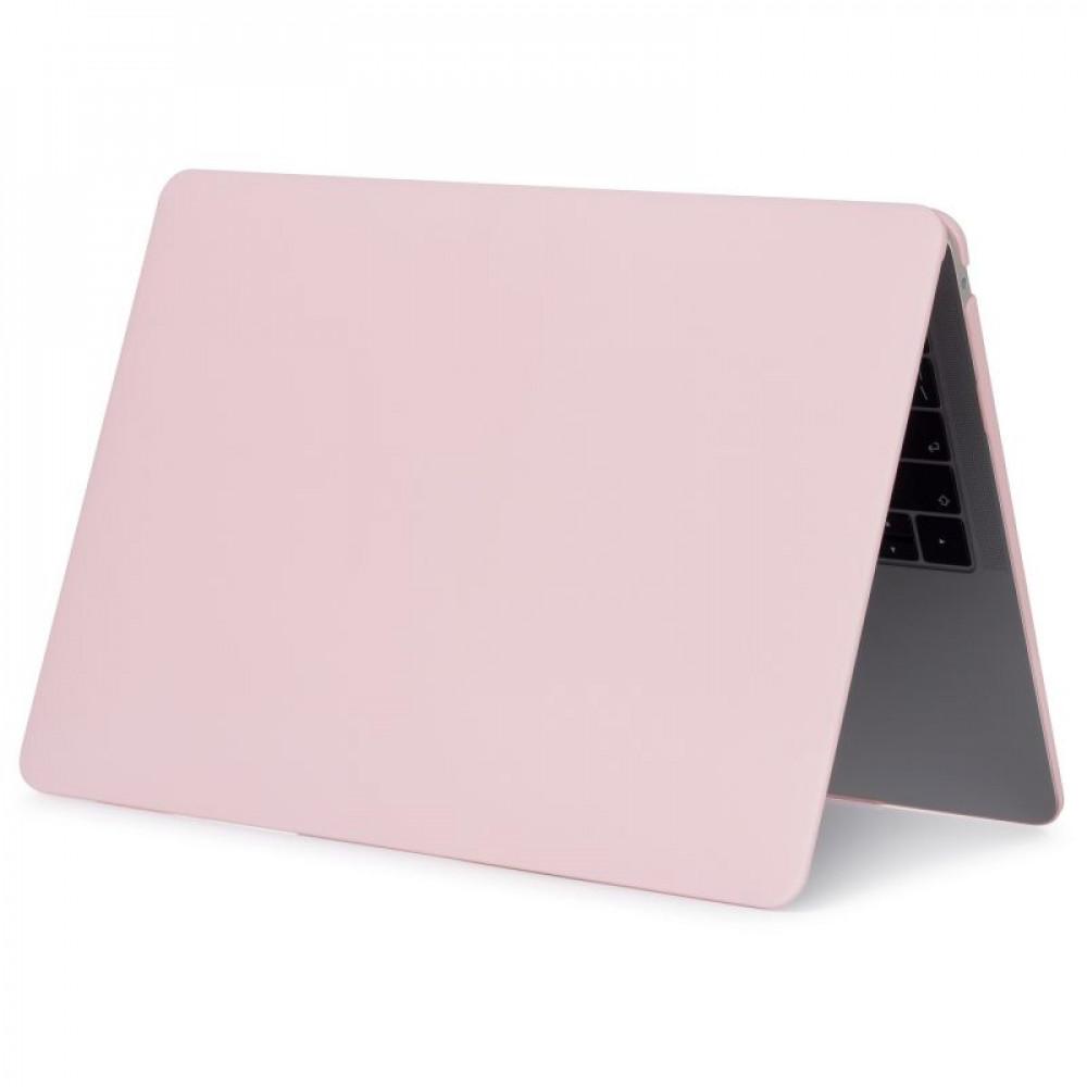 """Чехол-накладка на MacBook Air 13,3"""" New DDC пластик (Matte Pink Sand)"""