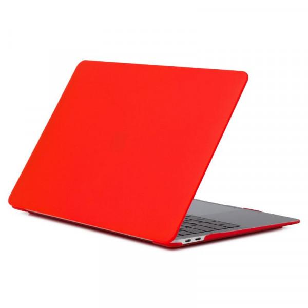 "Чехол-накладка на MacBook Air 13,3"" New DDC пластик (Matte Red)"