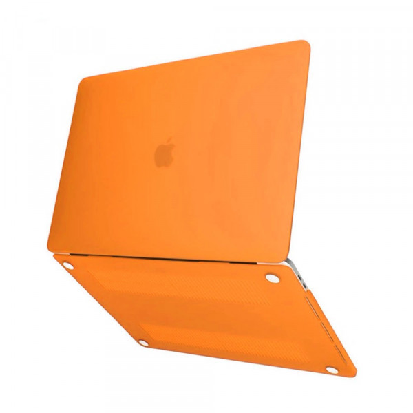 "Чехол-накладка на MacBook Air 13,3"" New DDC пластик (Matte Orange)"