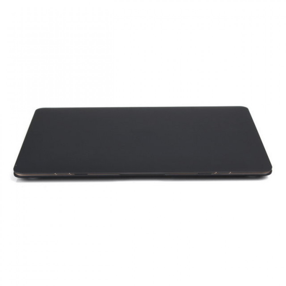"""Чехол-накладка на MacBook Pro 12"""" Retina DDC пластик (Matte Black)"""